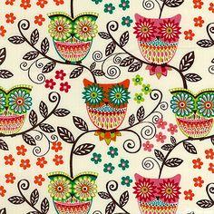 owl pattern ♥ KACRI5CR