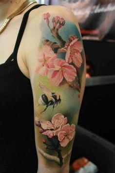 Trending Arm Tattoos Ideas For Women in 2020 Girl Arm Tattoos, Up Tattoos, Arm Tattoos For Women, Flower Tattoos, Body Art Tattoos, Sleeve Tattoos, Tattoos For Guys, Tatoos, Tattoo Shading