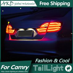 245.70$  Watch now - http://aiwrx.worlditems.win/all/product.php?id=32606048730 - AKD Car Styling for Toyota Camry Tail Lights 2015 New Camry V55 LED Tail Light Rear Lamp DRL+Brake+Park+Signal