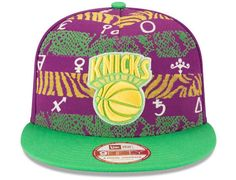 New York Knicks Nola Printed 9Fifty Snapback Cap By NEW ERA x NBA