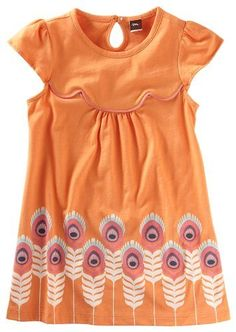 Tea Collection Girls Plumas Scalloped Dress, Orchard, Size 7 Tea Collection, http://www.amazon.com/dp/B004H1V22I/ref=cm_sw_r_pi_dp_p6Viqb1Q9RQNJ