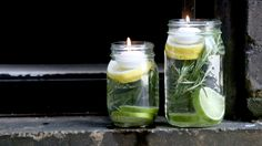 We found that these DIY non-toxic luminaries do a great job warding off the bugs