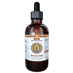 Rue Liquid Extract Organic Rue Ruta graveolens Tincture 2 oz * Click for Special Deals #GlycerineVegetables