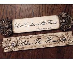 Leigh Ann, Decorative Mouldings, 3d Texture, Decoupage Vintage, Kitchen Stools, Hand Painted Signs, Vintage Market, Sweet Memories, Wood Art