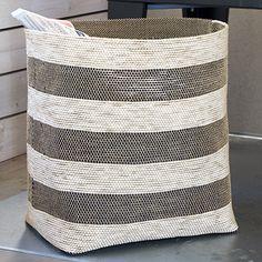 Free Pattern: Woven Paper Basket
