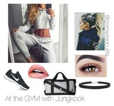 """""""Bts inspired outfits"""" by rachel-ullmann on Polyvore featuring NIKE, Humble Chic and adidas"""