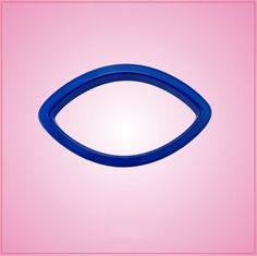 "2"" x 3.5"" Blue Football Cookie Cutter"