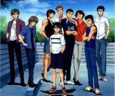Seigaku (Youth Academy) - Tennis no Ouji-sama - Image - Zerochan Anime Image Board Tennis Clubs, Tennis Players, Prince Of Tennis Anime, Samurai, Amaama To Inazuma, Letting Your Guard Down, Air Gear, Play Tennis, Disney Cartoons