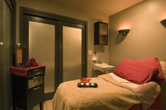 treatment rooms at La Dolcevita Day Spa and Salon