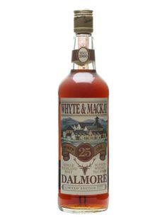 Dalmore 25 Year Old / Sherry Cask / Bot.1980s :: Highland Single Malt Scotch Whisky... liquid gold...best...I've...ever...tasted