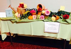 TABLESCAPE: Holiness Table Sunday School Teacher Appreciation Sunday By Ruby Outlaw-Keith