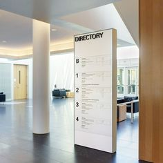 Directional Signage, Wayfinding Signs, Outdoor Signage, Hospital Signage, Standing Signage, Lobby Design, Design Design, Office Signage, Directory Design