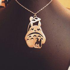Totoro #jewelleryhandmade #silverpendant