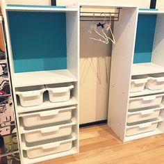 My Shelf/カラーボックス/ニトリ/ニトリのカラーボックス/幼稚園/幼稚園グッズ...などのインテリア実例 - 2017-04-10 01:43:49|RoomClip (ルームクリップ)