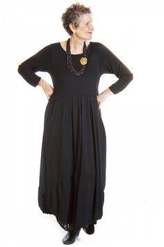 Everyday Elegant Black Dress