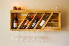 Everything in one place, perfect! Hey, I found this really awesome Etsy listing at https://www.etsy.com/listing/186858081/rustic-4-bottle-wood-wine-rack-with