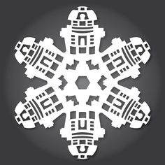 24 Free Paper Snowflake Templates—Star Wars Style! « Holidays