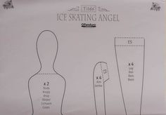 Unicorn: Tilda Ice skating angel / Тильда Ангел на коньках Мастер класс Ч.1