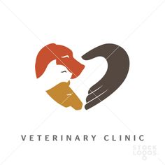 veterinary clinic!! Very creative! From the collection of logo's with a little bit of added space!