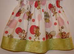 Micheal Miller Fabric  Sweet Flower Fairies   Size 2 by bubblenbee