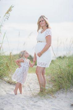 Beautiful Family Beach Maternity Session