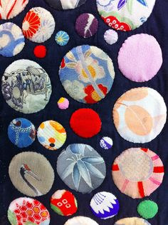 A Quilter by Night: Tokyo Quilt Festival 2013, Part 3 of 3: hand appliqued kimono silks