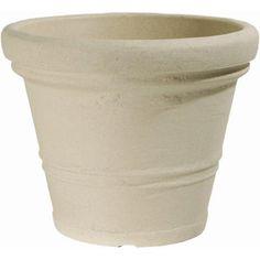 Robert Allen Home and Garden Endura Siena Round Pot Planter