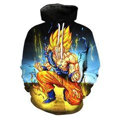 Legendary Super Saiyan Super Saiyan Goku Dragon Ball Z Hoodie - JAKKOUTTHEBXX - JAKKOU††HEBXX