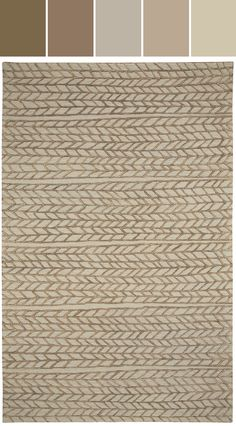 Ancient Arrow in Stone Bronze Designed By Capel Rugs via Stylyze