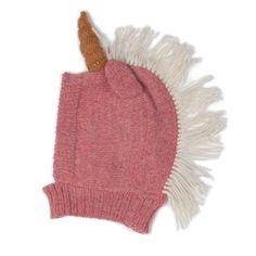 Oeuf Unicorn Hat, Rose - Spearmint LOVE