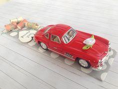 Geldgeschenk zur Hochzeit - Hochzeitsauto Mercedes Benz über http://de.dawanda.com/product/107640947-hochzeitsauto-audi-a6-rot-geldgeschenk
