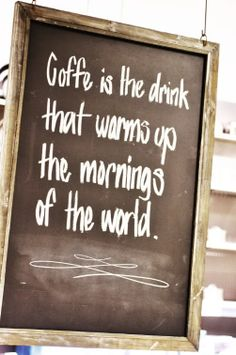Warm Up Your Morning ...