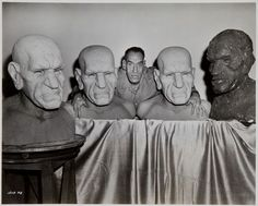 """House of Horrors (1946) Rondo Hatton as """"The Creeper"""""""