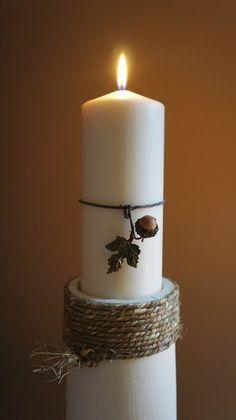 DIY Floor Candle Holders