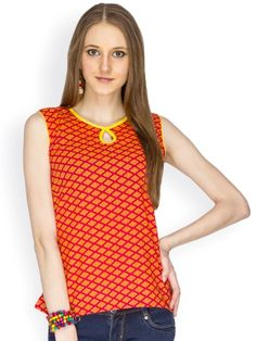 100% COTTON PRINTTED BODY FAB WITH YELLOW PIPING SLEEVLESS TOP - See more at: http://www.namakh.com/TOP/RED-PRINTED-TOP-id-1163740.html#sthash.O2yOrbvm.dpuf