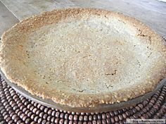 cream cheese oat no roll pie crust - gluten, sugar and nut free!