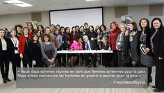 Leading up to the UN Conference on Syria on 22 Jan 2014, UN Women convened 50 Syrian women activists to amplify their voices and to support peace efforts. #womenofsyria
