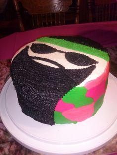 Birthday cake Duck Dynasty