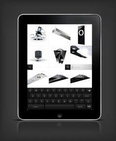 Targetti iPad app | Designer: I AM PELLE | Pelle Martin