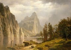 Albert Bierstadt - Merced River, Yosemite Valley 1866