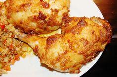 udka kurczaka w majonezie i czosnku