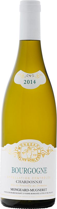 Mongeard-Mugneret Bourgogne Chardonnay Appellation d'Origine Contrôlée
