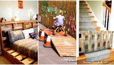 26 Highly Ingenious Cost Efficient Pallet DIY Projects For Kids