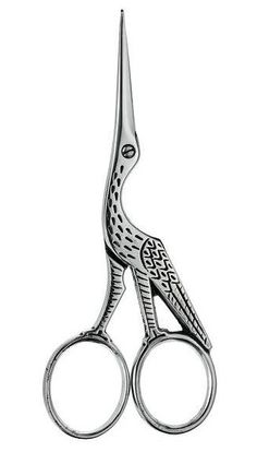 Ernest Wright and Son - Stork Scissors 'Antique Pattern'