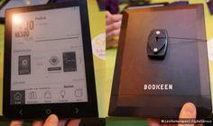 Les Numériques : Prise en main de la liseuse Bookeen Ocean 8 pouces au Salon du livre
