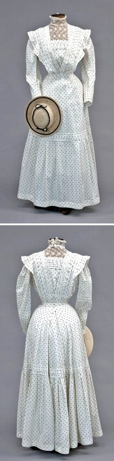 Super wedding dresses with pockets and sleeves shape 49 ideas Edwardian Clothing, Edwardian Dress, Antique Clothing, 1890s Fashion, Edwardian Fashion, Vintage Fashion, Robes Vintage, Vintage Dresses, Vintage Outfits