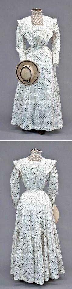 1890's summer dress