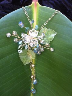 Wire wrap jewelry Necklace Pendant -