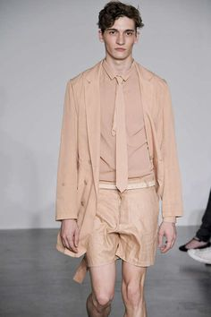 Tillmann Lauterbach S/S 2010 Menswear ...just bc i love the color nude