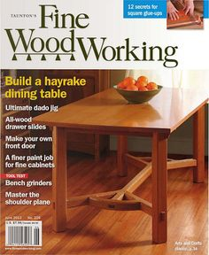 Fine Woodworking Magazine There are plenty of beneficial hints for your woodworking plans located at http://www.woodesigner.net